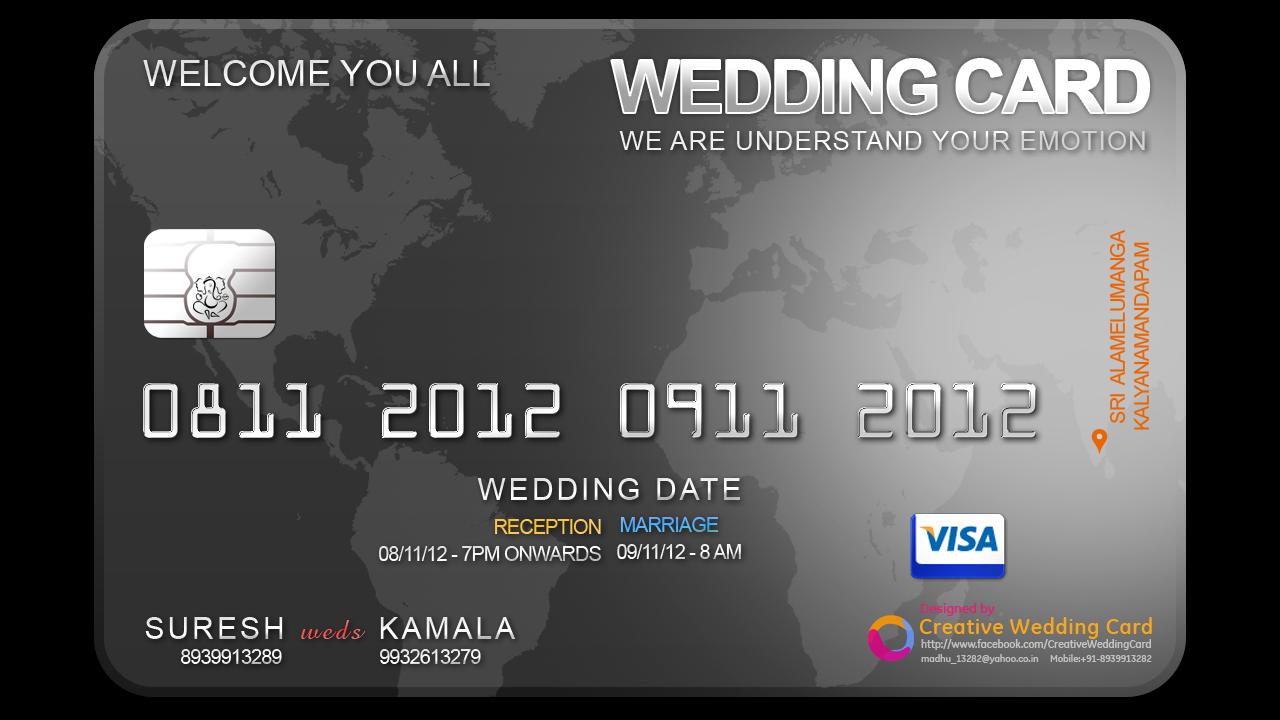 Creative Wedding Cards: 2012