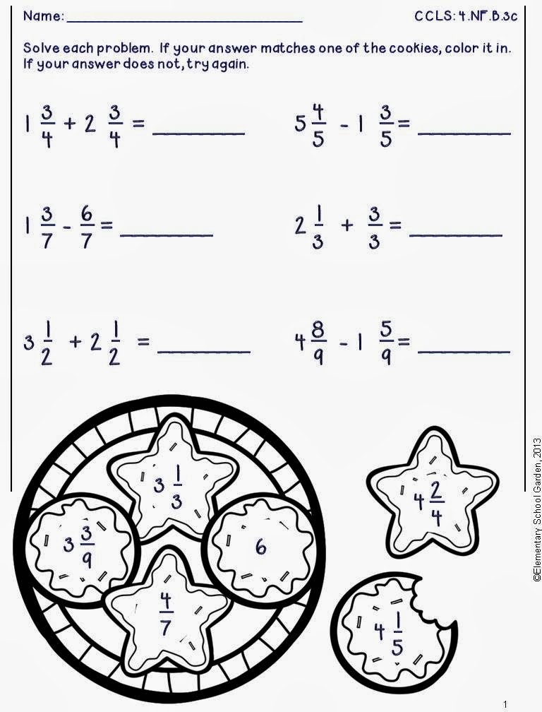 math worksheet : elementary school garden enter to win a pack of my new winter  : Free Winter Math Worksheets