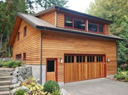 Garage home design