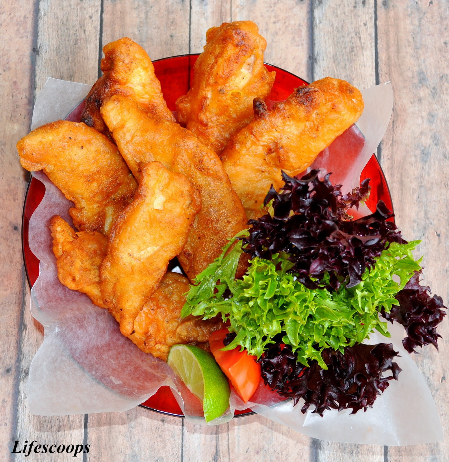 Life Scoops Beer Battered Fish