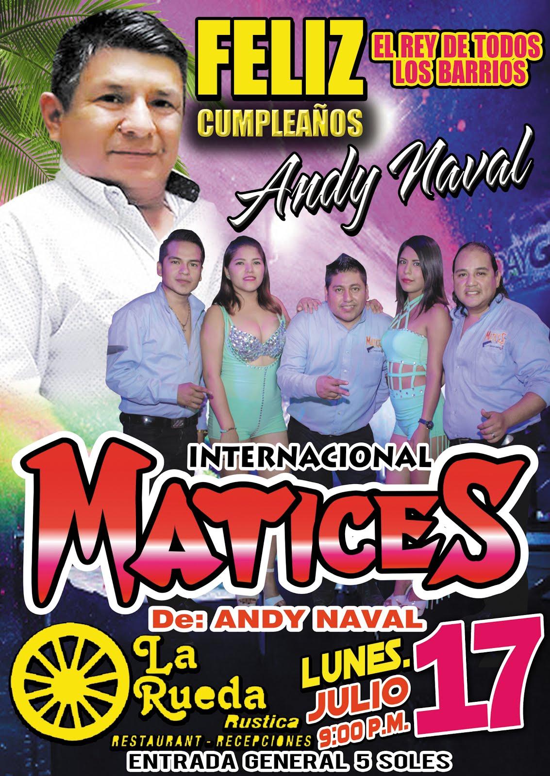 FELIZ CUMPLEAÑOS ANDY NAVAL