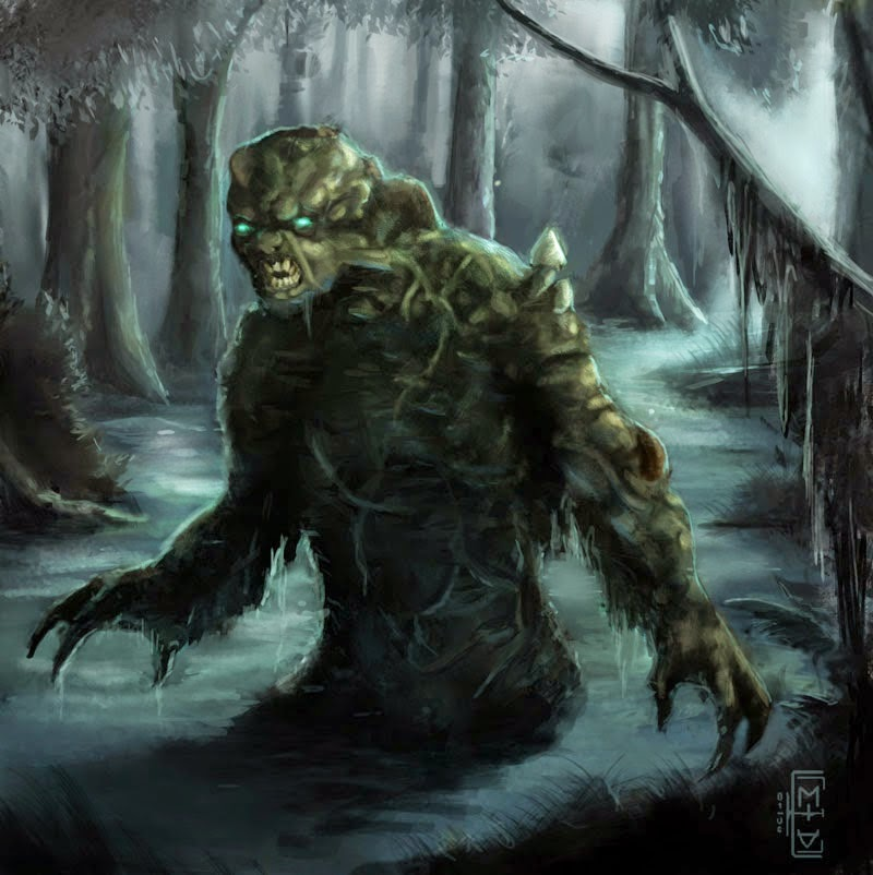 Do you believe in the Swamp Ape?