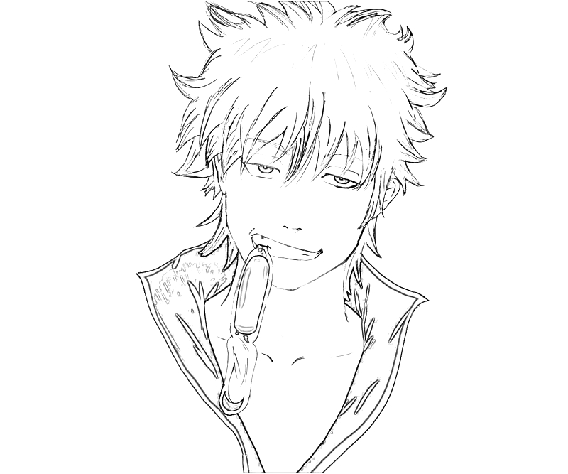 printable-sakata-gintoki-cool_coloring-pages-1