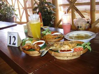 Menu Rumah Pohon Jogja, Yogyakarta