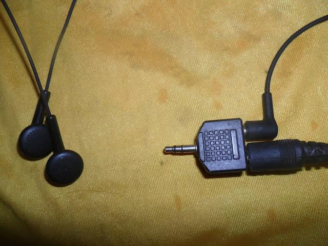 Kết nối headphone với DVD