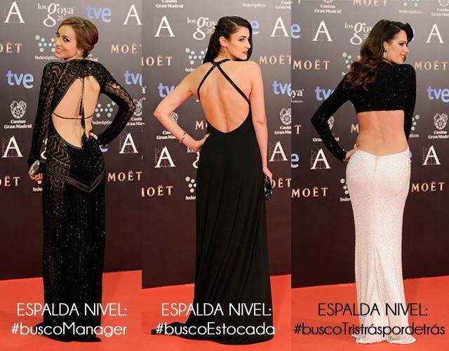 premios goya 2014 alfombra roja fotos hermanas bolena