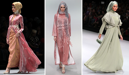 model of clothes the muslim the present trend in 2014