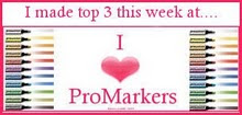I made the Top 3 at I Love Promarkers
