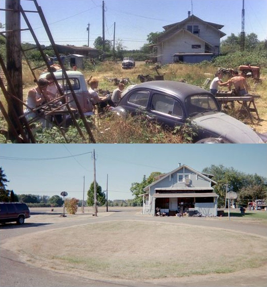 Then Amp Now Movie Locations Stand By Me