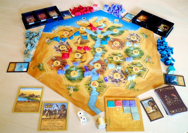 Andre's Fortress: The Settlers of Catan on
