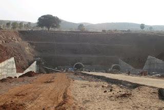 Uranium ore mine