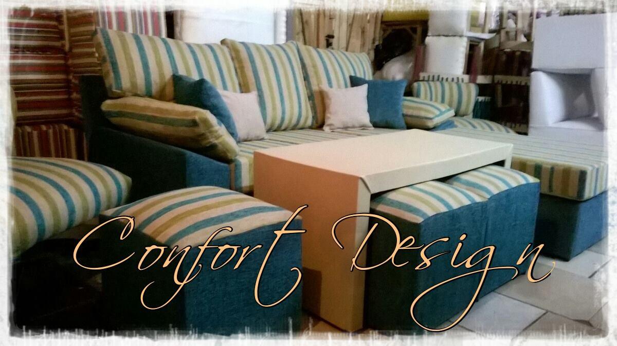 Confort Design Sillones Juego De Living Sillon Esquinero