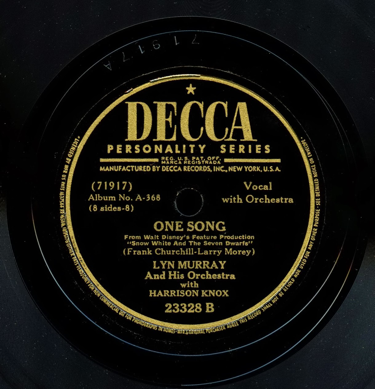 Decca Records Label Decca Records Label History