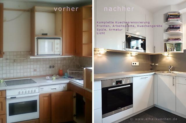Küchenrenovierung Vorher Nachher ~ Küchenrenovierung vorher  nachher Eine rustikale Küche der 80er
