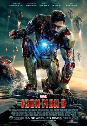 Robert Downey Jr. promocionando Iron Man 3 en Corea del Sur