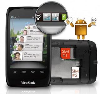 ViewSonic ViewPhone 3 Dual SIM Mobiles