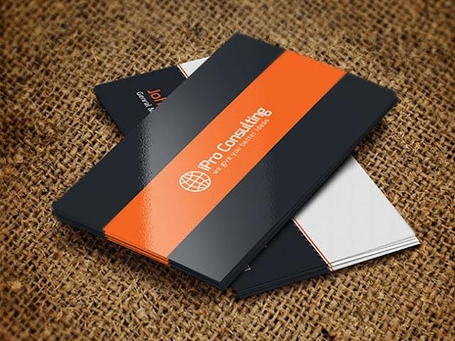 mẫu card visit đơn giản 2