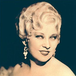 vintage portrait mae west
