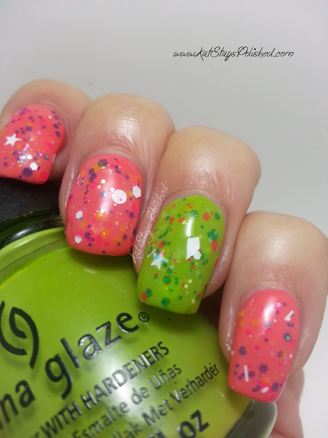 Glitter Daze: Life is But a Breeze | China Glaze Def Defying
