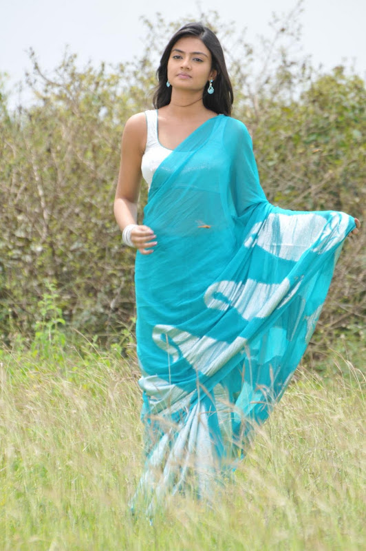 Nikitha Narayan Cool Saree Stills Nikitha Narayan Hot Saree Photos hot images