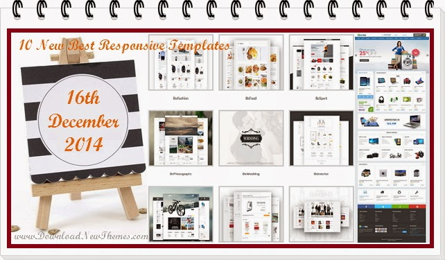 10 New Best Responsive Themes
