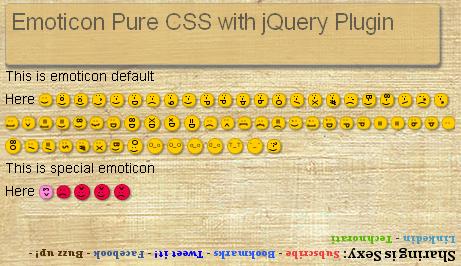 emoticon-css-jQuery