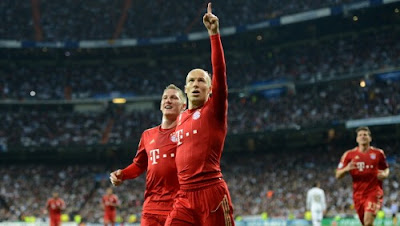 Real Madrid Bayern Monaco 2-1 highlights sky