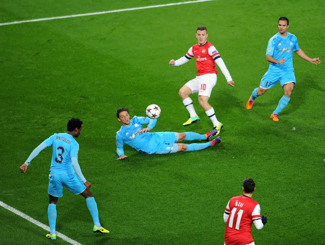 Jack Wilshere curls it in
