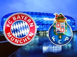 Bayern Munique X FC Porto