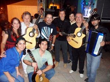 Con el Grupo Amandaye