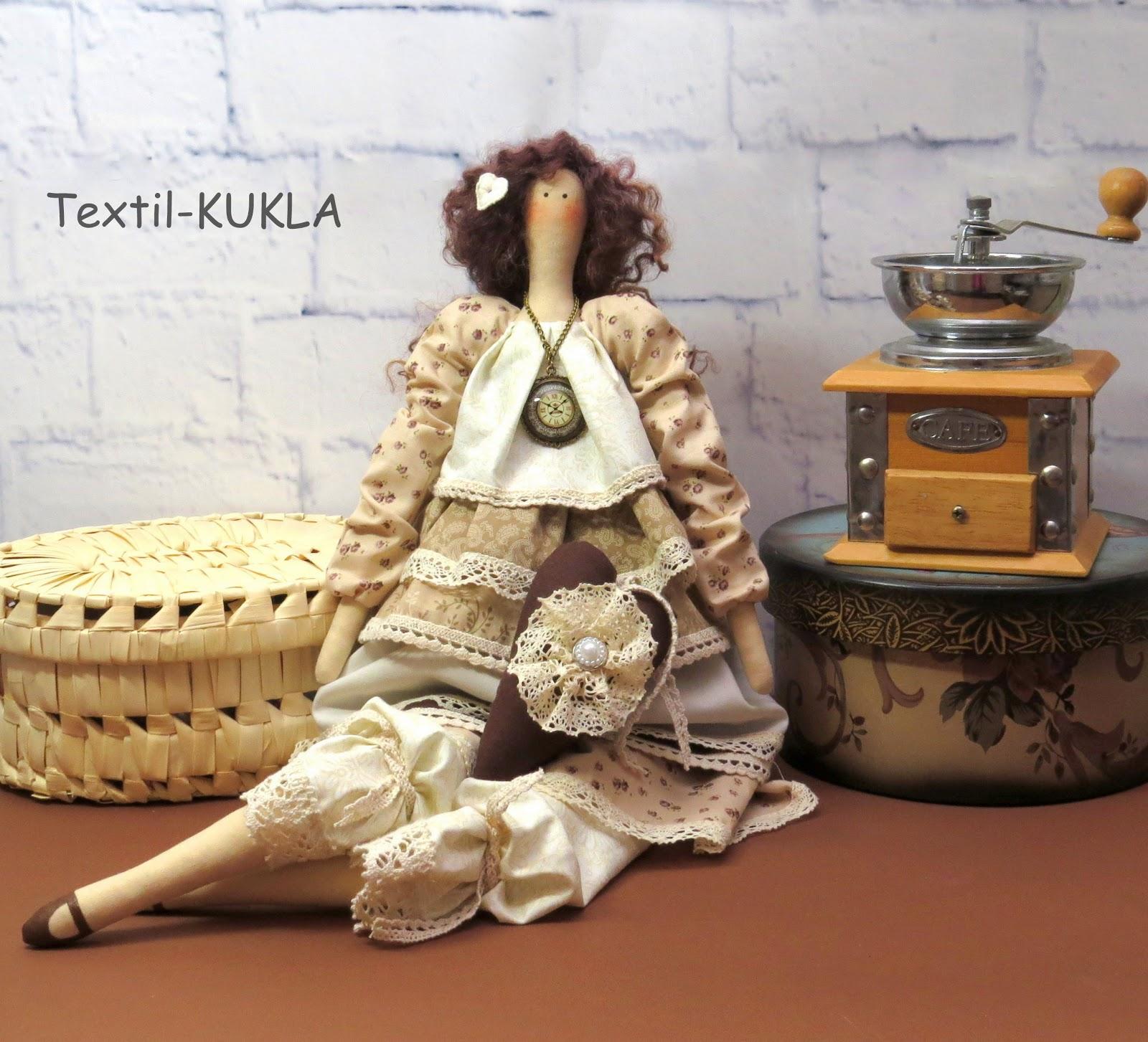 кофейная тильда фея фото