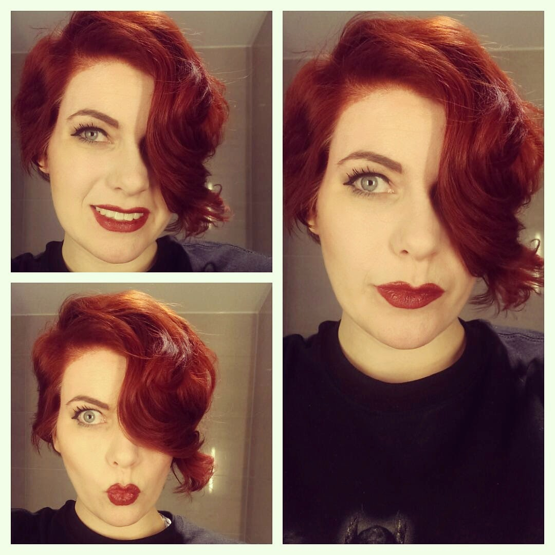 Chrix Design: New hair - Red from Transistor