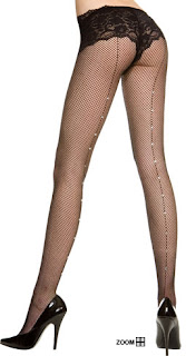 Diamond Backseam Tights