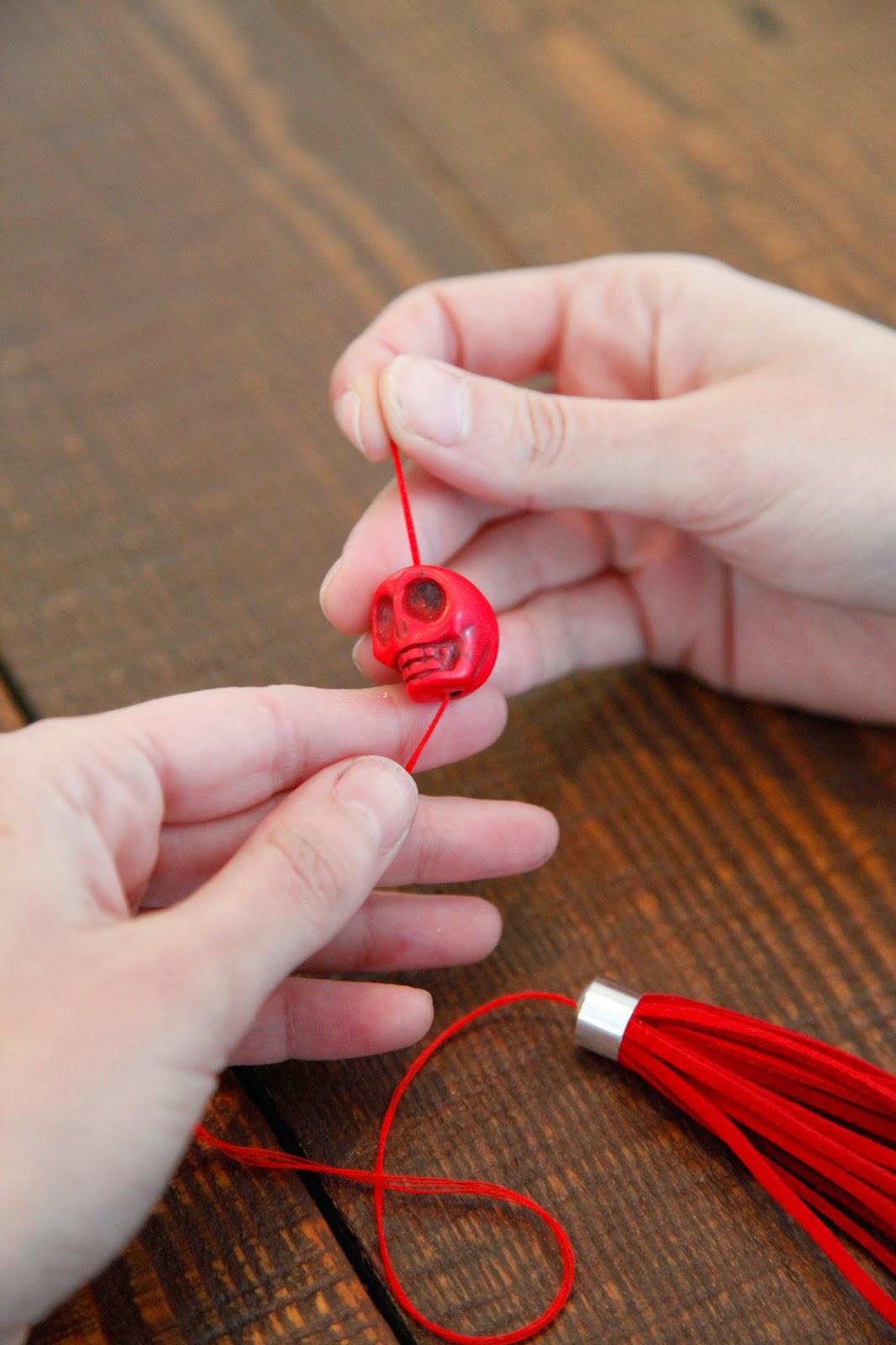 Как сделать шнурок для кисточек