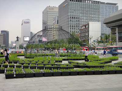 Gwanghwamun Square in Seoul