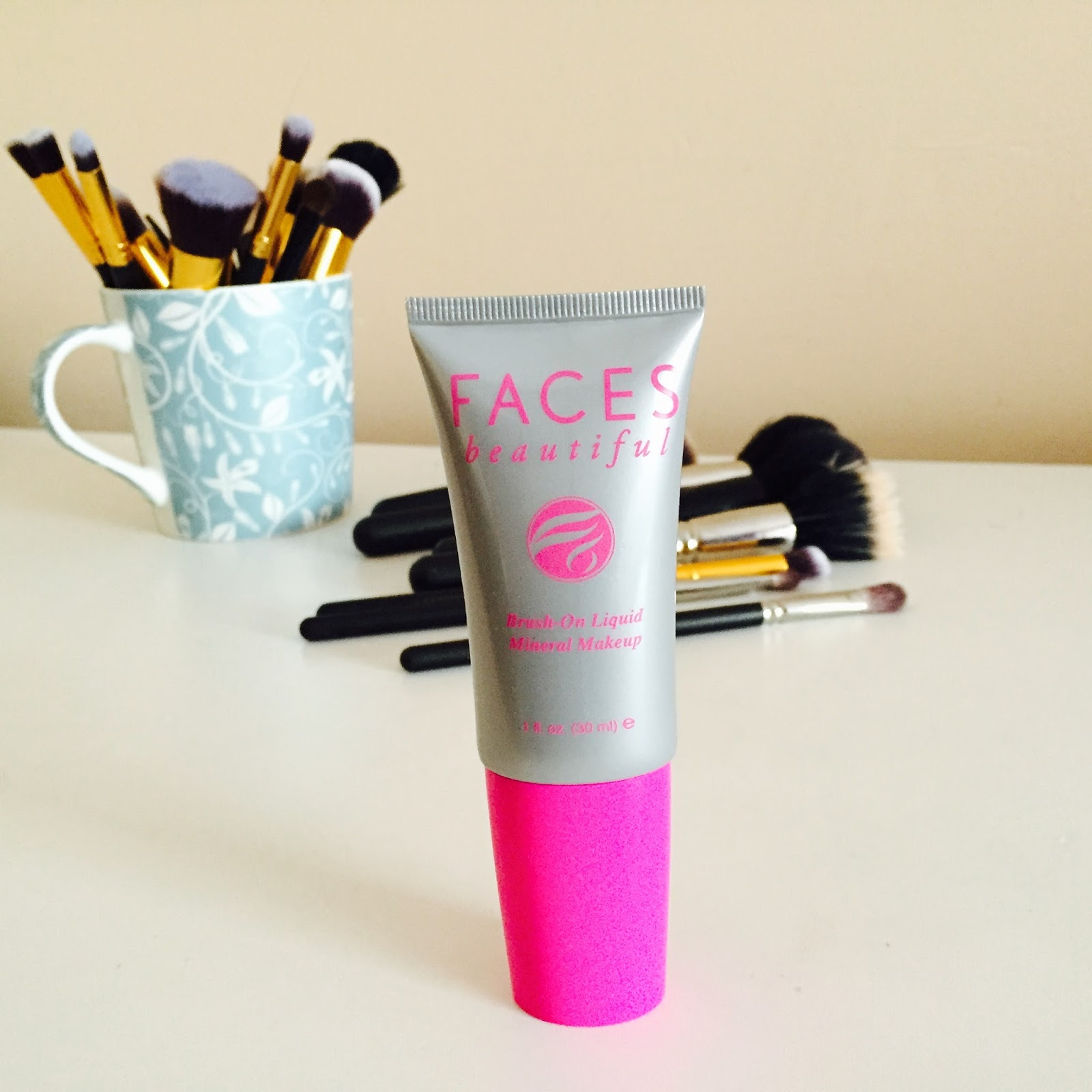 faces beautiful, faces beautiful liquid mineral makeup, faces beautiful review, liquid mineral make up,
