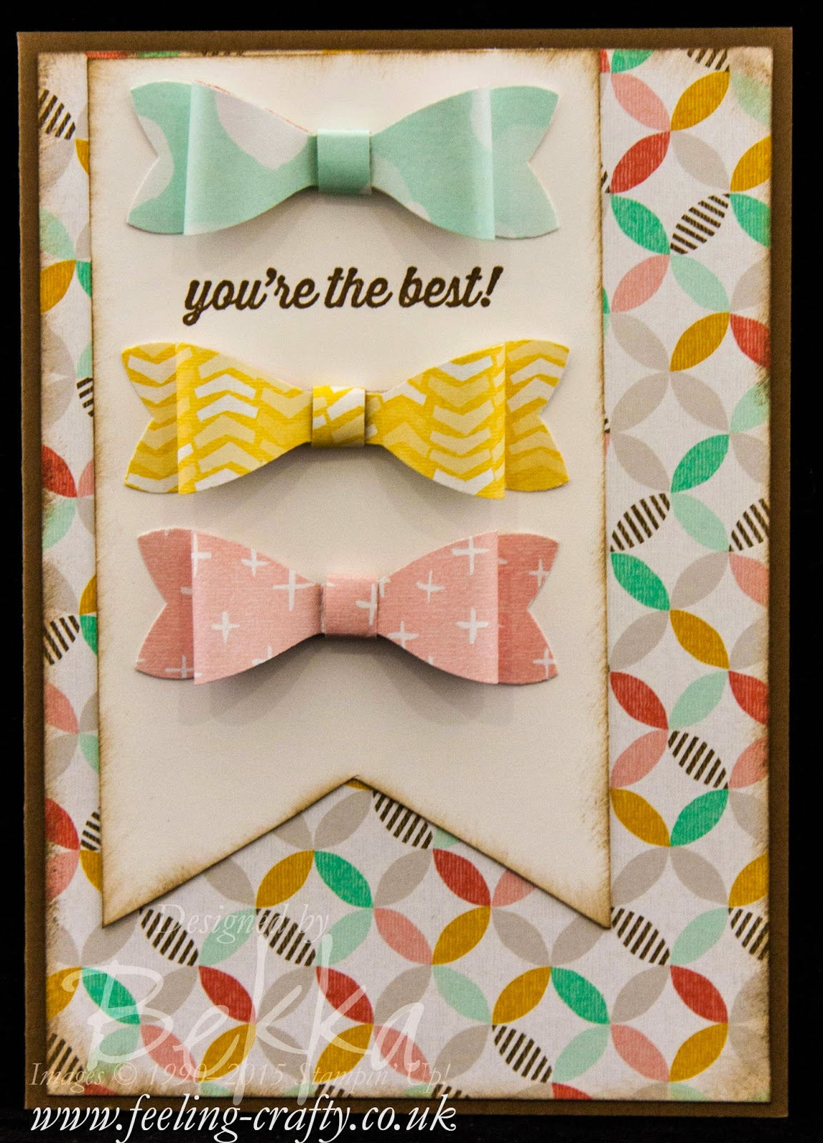 Best Year Ever Bow Card - Check Out this great blog for lots of ideas and shopping