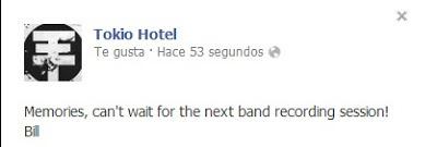 Nuevo-mensaje- facebook-nueva-foto-Bill-tokio- hotel-official-humanoid-colombia-fanclub