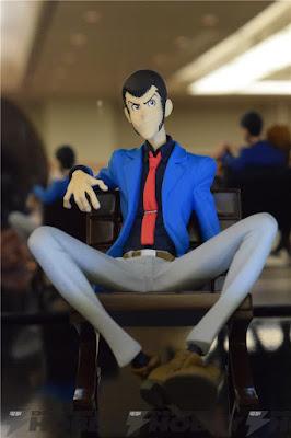 Alcune statue della Banpresto per Lupin The 3rd