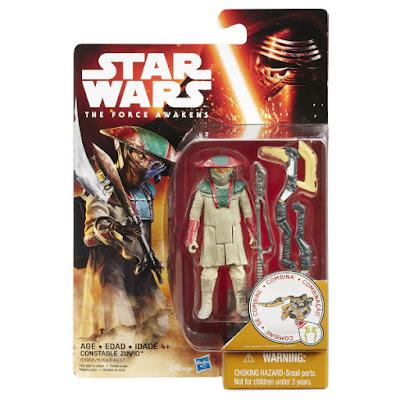 TOYS : JUGUETES - STAR WARS 7  Constable Zuvio | Figura - Muñeco  El Despertar de la Fuerza - The Force Awakens Película Disney 2015 | Hasbro B3968 | A partir de 4 años Comprar en Amazon España & buy Amazon USA
