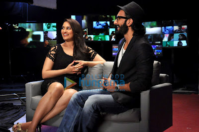 Promotion of 'Lootera' on the sets of UTV Bindass Emotional Atyachaar