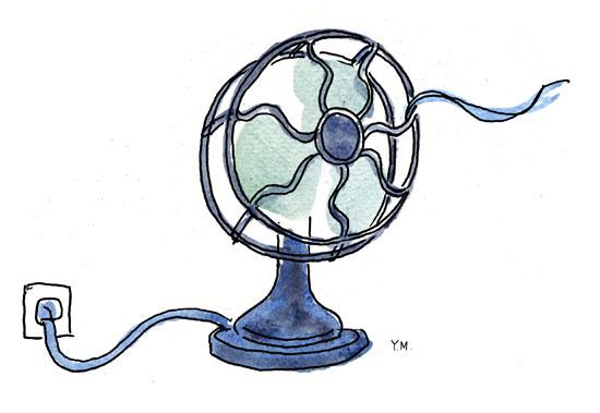 fan by Yukié Matsushita