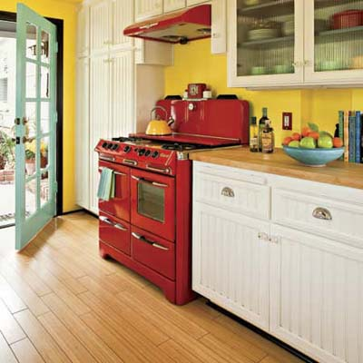 Some factors to help you selecting kitchen color schemes for White kitchen colour schemes
