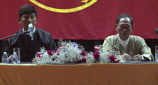 Question and Answer with SF Burmese Community by Min Ko Naung and Ko Ko Gyi (VDO)