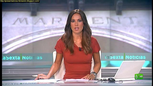 Cristina Saavedra marcando