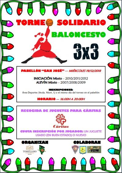 3X3  SOLIDARIO DE NAVIDAD