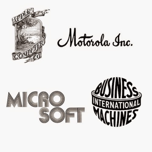 7 Famous Tech Logos Before 90's