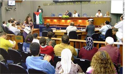 Comunidade palestina de Rio Grande-RS recebe homenagem