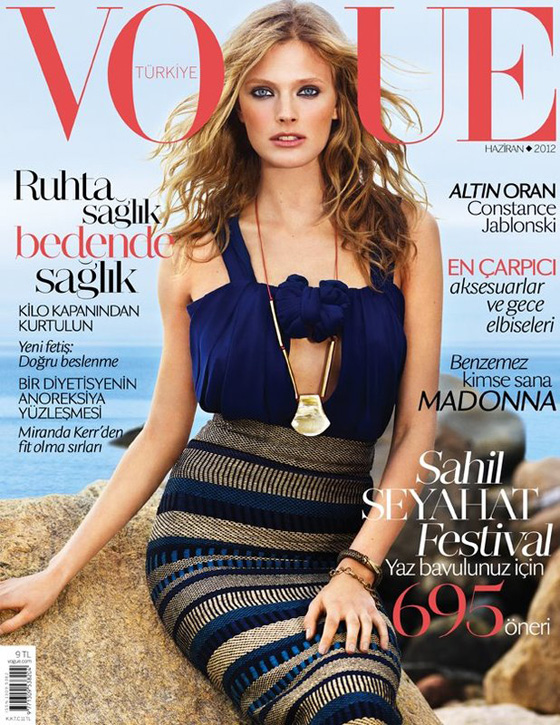 Vogue Turkey june 2012