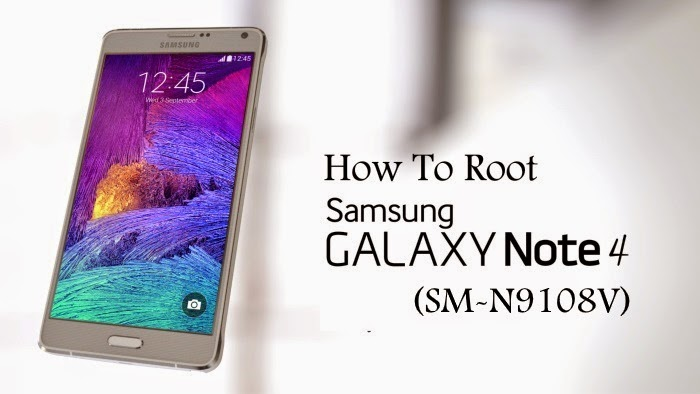 root samsung galaxy note 4 SM-N9108V